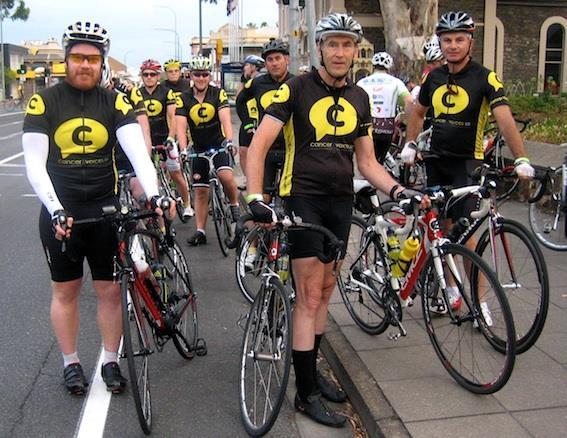 Cancer Voices Challenge Ride