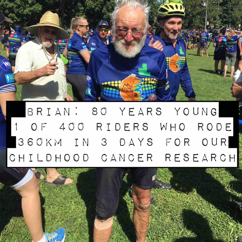 80 years 360kms